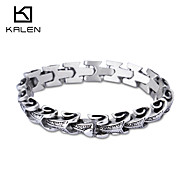 Kalen 2015 Men's Jewelry Unique Design Stainless Steel Bracelet