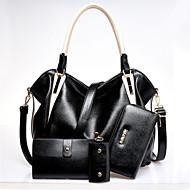 VUITTON ® Women PU Barrel Shoulder Bag / Tote / Wallet / Card & ID Holder - Blue / Brown / Red / Black
