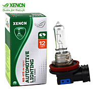2個xencn H16 12V 19ワット3200K明確シリーズオリジナルのヘッドライトのOEM品質のハロゲン電球自動フォグランプ