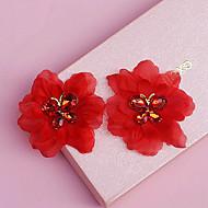 Fleurs Casque Mariage/Occasion spéciale Cristal/Tulle Femme Mariage/Occasion spéciale 2 Pièces