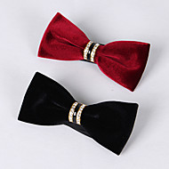 Holiday DViamond Velvet Bow Ties