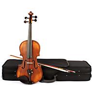 astonvilla 4/4 épinette en bois de couleur bois mat rétro violon av-10