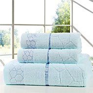 Bed Toppings 100% Cotton Bath Towel 3 Pieces Set