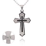 Gift Groomsman Customize Gift Men's Cross Pendant