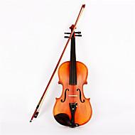 astonvilla 4/4 épinette violon en bois en bois de couleur matte av-10