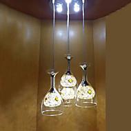 Závěsná světla LED moderní - současný design Obývací pokoj/Ložnice/Jídelna/studovna či kancelář Sklo
