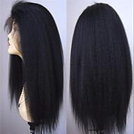 non transformés vierges avant de lacet perruques de cheveux humains brésiliens dentelle devant perruques 130% de densité coquins perruques