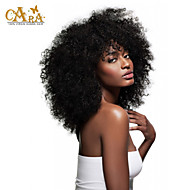 "4Pcs Lot 10-26"" Unprocessed Raw Burmese Virgin Human Hair Weave Afro Kniky Curly Color Natural Black Hair Wefts"