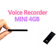 (701) 8gb hd professionale digitale a distanza di riduzione del rumore registratore vocale eccellente ultrasottile forte mini registratore