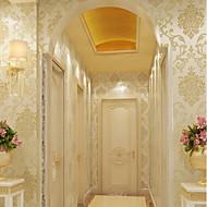 nieuwe regenboog ™ klassieke behang art deco goudfolie behang wandbekleding niet-geweven papier kunst aan de muur