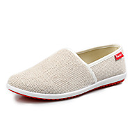 Ultra Light Men's Breathable Canvas Slip-on Loafers in Leisure Style Man's Flats in Daily Life