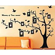képkeret fa falimatrica zooyoo2141 gyerek szoba fala művészeti nappali falán matricák