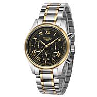 GUANQIN® Men's Watch Quartz Waterproof Calendar Luminous Stainless Steel Male Watch Fashion Business Wrist Watch Cool Watch With Watch Box