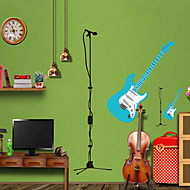 Wall Stickers Wall Decals Style Guitar PVC Wall Stickers