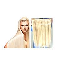 """1ks / lot 8 """"-30"""" fanda v prodloužení vlasů brazilský panna lidský vlas 100 g / kus hedvábí rovné vlasy # 1b, # 2, # 4, # 6, # 33, # 27, #"""