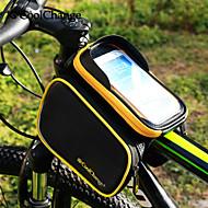 CoolChange® Bike Bag about3LLFahrradrahmentasche / Radfahren Rucksack / Rucksackzubehör Regendicht / Reflexstreifen / Skifest