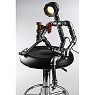 Skrivbordslampor - Traditionell/Klassisk/Rustik/Nyhet - LED - Metall