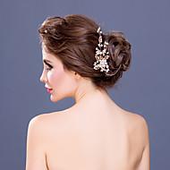 Women's Rhinestone / Alloy / Imitation Pearl Headpiece-Wedding / Special Occasion Hair Combs 1 Piece