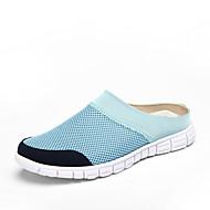 Homme-Extérieure Décontracté Sport--Talon Plat-trou Chaussures-Mocassins et Chaussons+D6148-Tulle Microfibre