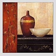Handgeschilderde AbstractModern / Europese Stijl Eén paneel Canvas Hang-geschilderd olieverfschilderij For Huisdecoratie