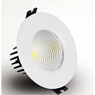 5W LED spodní osvětlení Zápustná COB 400-450 lm Teplá bílá / Chladná bílá Stmívací AC 220-240 / AC 110-130 V 1 ks