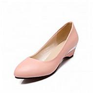 Scarpe Donna - Scarpe col tacco - Ufficio e lavoro / Formale / Casual - Tacchi / Decolleté / A punta - Quadrato - Sintetico -Nero /