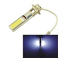 H3 15W COB LED Car DRL Lamp Driving Head Light Bulbs -White Light(1PCS)