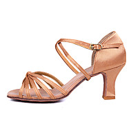 Women's Dance Shoes for Latin/Salsa with Heels /2 Colors Customizable