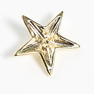 Fashion Five-pointed Star Brooch Shirt Collar Button