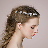 Women's Rhinestone/Alloy Headpiece - Wedding/Casual Hair Pin 1 Piece