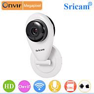 מצלמת IP - Sricam - יום לילה/גלאי תנועה/גישה מרחוק/IR-cut/Wi-Fi התקנה מוגנת/חבר ושחק - מיני - פנימי