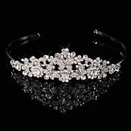 Dame / Blomsterpige Sterling Sølv / Legering Medaljon-Bryllup / Speciel Lejlighed Pandebånd / Blomster / Krans 1 Stykke Sølv