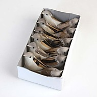 A Box of Artificial Birds include 12pcs