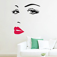 stickers muraux autocollants de mur, pvc Hepburn stickers muraux