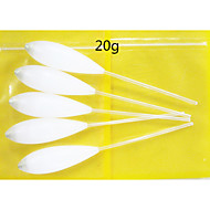 5PCS  20g Float Slow-Down Sinking  Bombarda Fishing Float Fishing Tackle