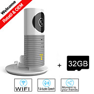 Besteye® 32GB TF Card and Smart Camera IP with IR Night Vision Wireless Surveillance WIFI Camera