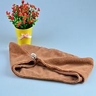 Badhanddoek Wit / Chocolade,Effen Hoge kwaliteit 100% Microvezels Handdoek