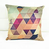 kromatisk geometri dekorativa örngott (17 * 17 tum)