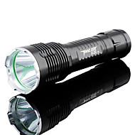TanLu Lanternas LED / Lanternas de Mão LED 1000 Lumens 5 Modo Cree 26650 Prova-de-Água / Recarregável / Alta IntensidadeCampismo /