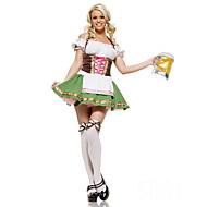German Girls Terylene & Spandex Halloween Female Oktoberfest Costumes
