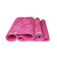 Tapis de Yoga 173*61* 0.06 Non Slip / Gluant / Eco Friendly / Non Toxic / étanche / Séchage rapide / Sans odeur 6 Rose / Bleu / Vert
