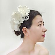 Kristallen/Imitatie Parel/Stof/Net Vrouwen Helm Bruiloft/Speciale gelegenheden/Outdoor Bloemen Bruiloft/Speciale gelegenheden/Outdoor1