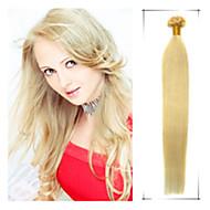 1шт / много 18-дюймовый / 45cm Multicolors прямо подсказки ногтя наращивание волос grade5a человеческих волос 100s / пакет 1g / с