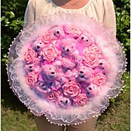 Birthday Gift Teddy Doll Bouquet Valentine's Day Gift Wedding Bouquet