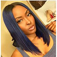 8A Grande Unprocessed 10-30inch Bob Straight Lace Front Wig & U Part Wig 100% Brazilian Human Hair