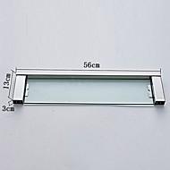 Polička do koupelny / Nerez / Na ze´d /600mm*135mm*60mm /Nerez / Sklo /Moderní /60cm 13.5cm 2.2