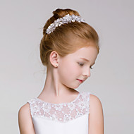 Flower Girl's Alloy/Acrylic Headpiece - Wedding/Special Occasion/Outdoor Wreaths 1 Piece