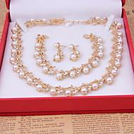 Ensemble de bijoux Femme Anniversaire / Mariage / Fiançailles / Cadeau / Sorée / Quotidien / Occasion spéciale Parures AlliageColliers