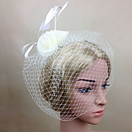 Women Feather/Net Elegant Simple Birdcage Veils With Wedding/Party Headpiece(More Colors)