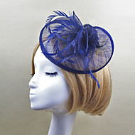 Women Feather/Net Vintage Fashion Flowers/Hats With Wedding/Party Headpiece(More Colors)